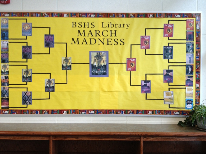 BSHS Library March Madness 2013